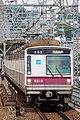 Tokyo Metro 8000 series Futako-Shinchi Station 2017-05-07 (34751568914).jpg