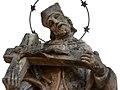 Tolna, Hősök terei Nepomuki Szent János-szobor 2020 14.jpg