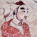 Tomb of Northern Qi Dynasty in Jiuyuangang, Xinzhou, Mural 33.jpg