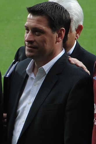 Tony Cottee - Cottee at a testimonial for Tony Carr in 2010
