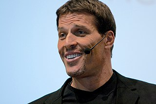 Tony Robbins American author and motivational speaker