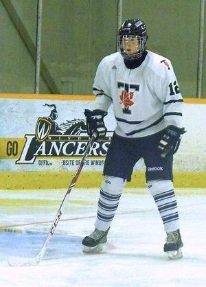 Toronto Varsity Blues women's ice hockey - Blues player 2014.