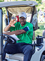 Torry Holt on his golf cart, Jimmy V Classic 2012.jpg