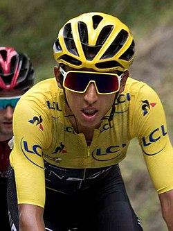 Tour de France 2019, Egan Bernal (48417058947) (cropped small).jpg