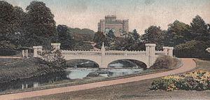 Eglinton Tournament Bridge - The bridge in 1905.