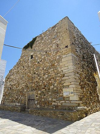 Duchy of the Archipelago - Sanudo Tower, Chora of Naxos