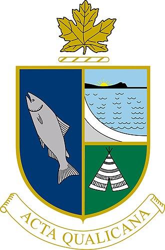 Qualicum Beach - Image: Town of Qualicum Beach Logo