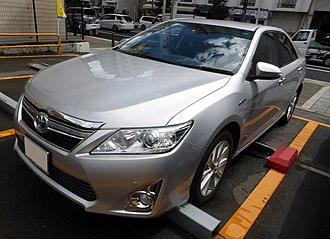 GAC Toyota - Image: Toyota CAMRY HYBRID G Package (AVV50) front