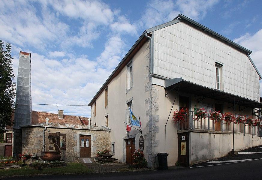 Musée de la fromagerie à Trépot (Doubs).