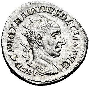 Decius - Antoninianus of Trajan Decius