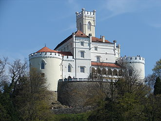 Trakoscan Castle is one of the best preserved historic buildings in the country Trakoscan 2007.JPG