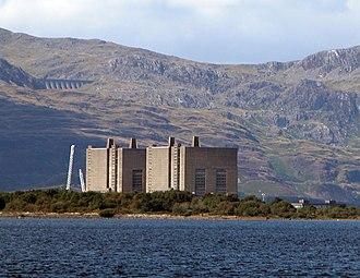 Trawsfynydd nuclear power station - Image: Trawsfynydd Nuclear Power Plant
