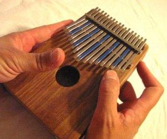 Lamellophone - A Hugh Tracey treble kalimba.
