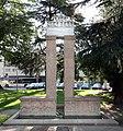 Trento, Monumento a Luigi Negrelli, autore del progetto esecutivo del canale di suez, 01.jpg