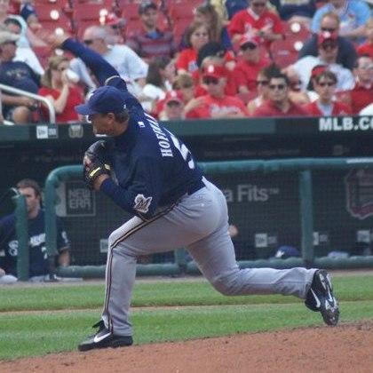 Trevor Hoffman on September 3, 2009
