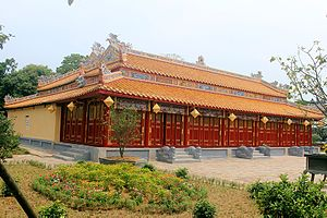 Nguyễn Kim - Triệu Tổ Temple in (Imperial city, Huế) tribute to Nguyễn Hoàng