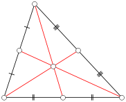 The barycenter is the center of gravity.