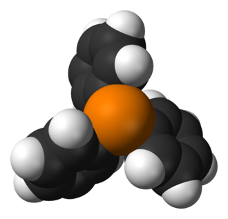 Triphenylphosphine - Image: Triphenylphosphine 3D vd W