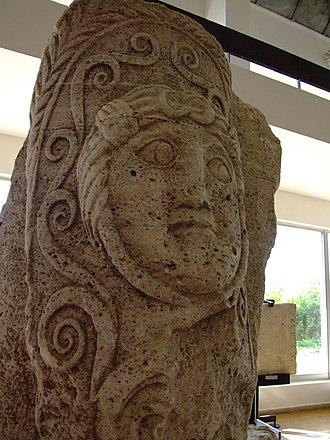 Tropaeum Traiani - Image: Tropaeum Traiani Tropy Detail