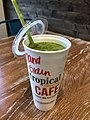Tropical Smoothie Cafe - Island Green smoothie, June 2018.jpg