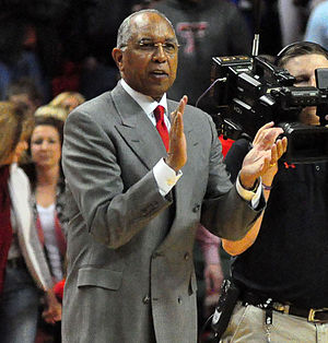 Texas Tech Red Raiders basketball - Texas Tech University head basketball coach Tubby Smith during the 2013–14 season