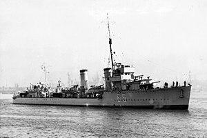 J. Samuel White - Argentine destroyer ''Tucumán''