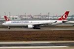 Turkish Airlines, TC-JOJ, Airbus A330-303 (39244510594).jpg