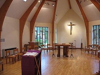 Turvey Abbey - Turvey Abbey interior