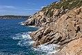 Tuscan Islands - Elba - coast near Fetovaia.jpg