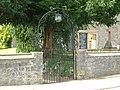 Tutshill Church, Coleford Road - entrance gate - geograph.org.uk - 555075.jpg
