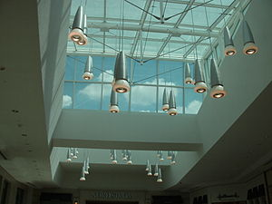 Twelve Oaks Mall - Twelve Oaks underwent renovations in 2007 that included additional internal lighting around the mall's existing skylights.
