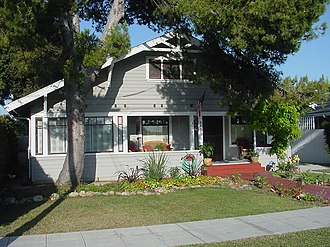 California bungalow - Image: Typical calif bungalow