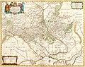 Typus Generalis Ukrainae sive Palatinatum Podoliae, Kioviensis et Braczlaviensis Moses Pitt (Oxford, 1681).jpg