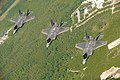 U.S. Air Force F-35A Lightning II aircraft assigned to the 58th Fighter Squadron, 33rd Fighter Wing fly in formation over Eglin Air Force Base, Fla., May 16, 2013 130516-F-XL333-744.jpg