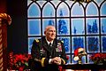 U.S. Army Chief of Staff Gen. Raymond T. Odierno attends the Colbert Report for an interview in New York City with Stephen Colbert.jpg