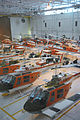 U.S. Navy TH-57 Sea Ranger helicopters sit in the hangar at Naval Air Station Whiting Field, Fla., Aug. 27, 2012, to protect them from the heavy winds and debris expected from Tropical Storm Isaac 120827-N-WW980-008.jpg