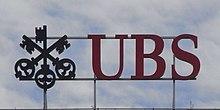 L'attuale logo di UBS rappresentante le tre chiavi simbolo dei tre valori cardine del Gruppo: fiducia, sicurezza e discrezione.
