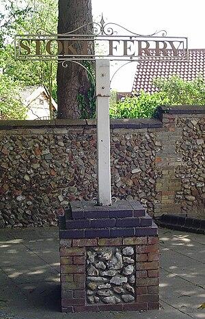 Stoke Ferry - Signpost in Stoke Ferry
