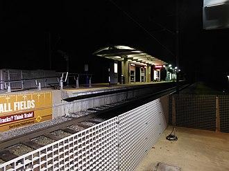 UMSL North station - UMSL North station, November 2016