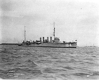 USS <i>Ellis</i> (DD-154)