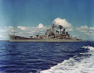 USS Boston (CA-69) - Image: USS Boston (CAG 1) underway in Guantanamo Bay on 10 January 1967