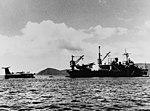 USS Currituck (AV-7) at anchor in Cam Ranh Bay with SP-5B Marlins in June 1965.jpg