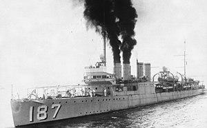 USS Dahlgren (DD-187) - USS Dahlgren (DD-187) in 1931