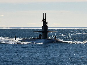 USS Dallas (SSN-700) - Dallas returning from her 2013 deployment.