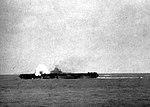 USS Hancock (CV-19) hit by kamikaze 1945.jpg