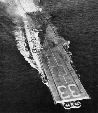 USS Kearsarge (CV-33) - Kearsarge after her SCB-27A modernization.