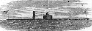 USS Weehawken (1862) - Image: USS Weehawken (1862)