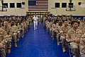 US Navy 080811-N-8273J-007 Chief of Naval Operations (CNO) Adm. Gary Roughead speaks with Sailors during an all hands call at Naval Forces Central Command.jpg