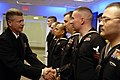 US Navy 090305-N-9818V-110 Master Chief Petty Officer of the Navy (MCPON) Rick West meets with Sailors who recently returned from serving an Individual Augmentee.jpg