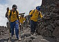 US Navy 090824-N-5253W-065 Yokosuka area chief petty officer (CPO) selects pass through the final Torii gate to reach the 12,388-foot summit of Mt. Fuji.jpg